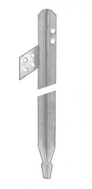 Földelőrúd kereszt 1,5 m-es horganyzott, (Mtdc3.150) (LARDC3.150), keresztföldelő