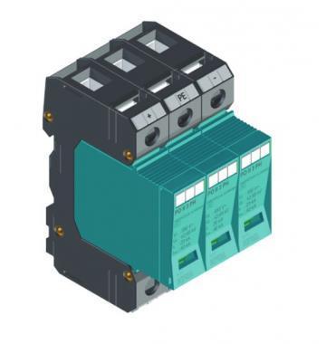 Túlfeszültség levezető PO II 3 PH 1000VDC/40kA